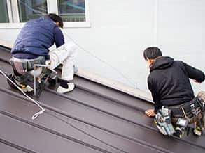雨漏り修理|山口板金の屋根工事施工メニュー