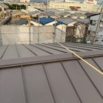 右京区にて新築屋根工事