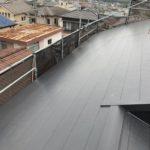 交野市にて屋根の葺き替え工事