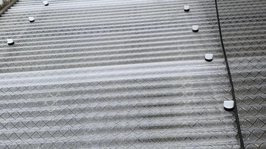 京都市西京区にて波板張替工事