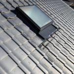 伏見区にて天窓の板金施工