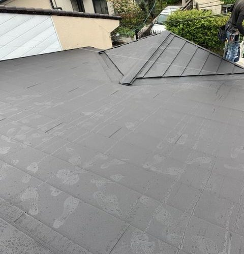 京都市西京区にて屋根修理 ~カバー工法~