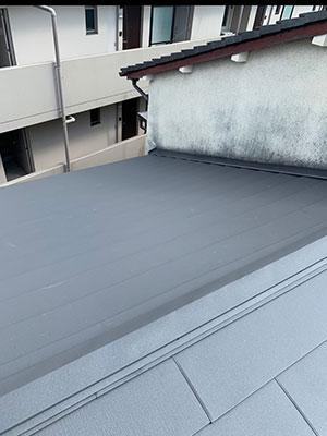 耐震性・断熱性向上のための屋根葺替え工事