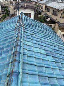 屋根軽量化工事 施工前