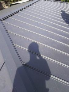 京都市右京区にて雨漏り修理 完工