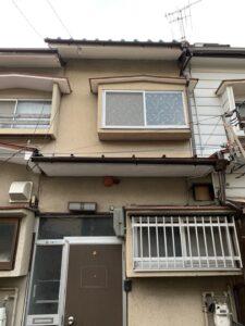 長岡京市にて雨漏り修理に伴う雨樋の新設工事 施工後