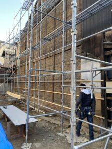 隣家補修工事 施工前